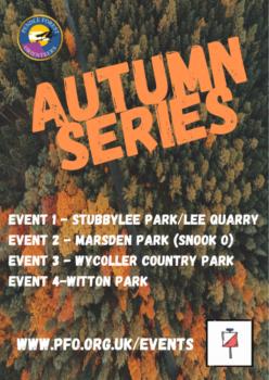 Autumn Series 2021 Flyer