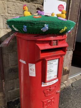 Post box , near control 12.