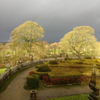 Gawthorpe formal gardens