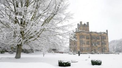 Gawthorpe_Hall in Winter