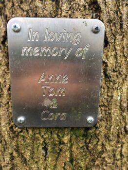 In loving memory of Anne Tom & Cora. Ctrl 55.