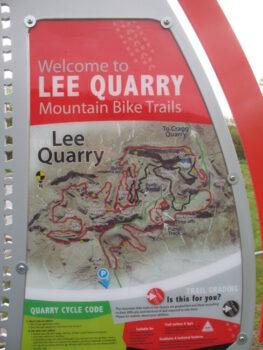 Lee Quarry map
