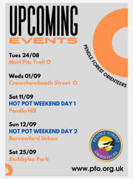 Upcoming events August-September