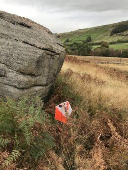 119 Crag, 2m, SE foot